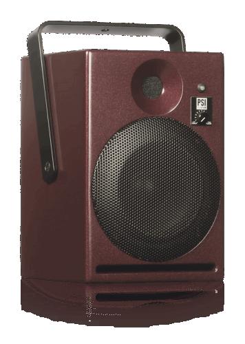 Фото PSI Audio A14-M Red активный студийный монитор Hi-End класса 100 Вт