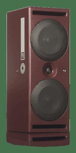 Фото PSI Audio A214-M Red активный студийный монитор Hi-End класса 160 Вт