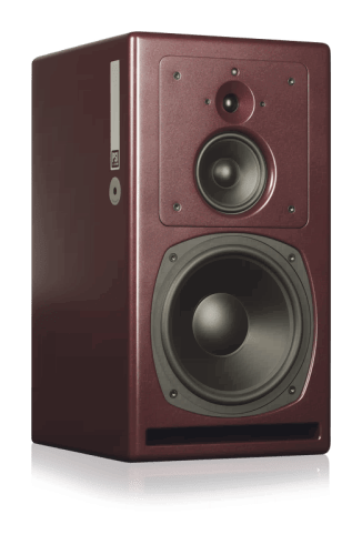 Фото PSI Audio A25-M Red активный монитор Hi-End класса 300 Вт